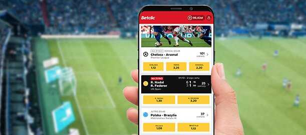 l'application de la compagnie Betclic de sport et de poker